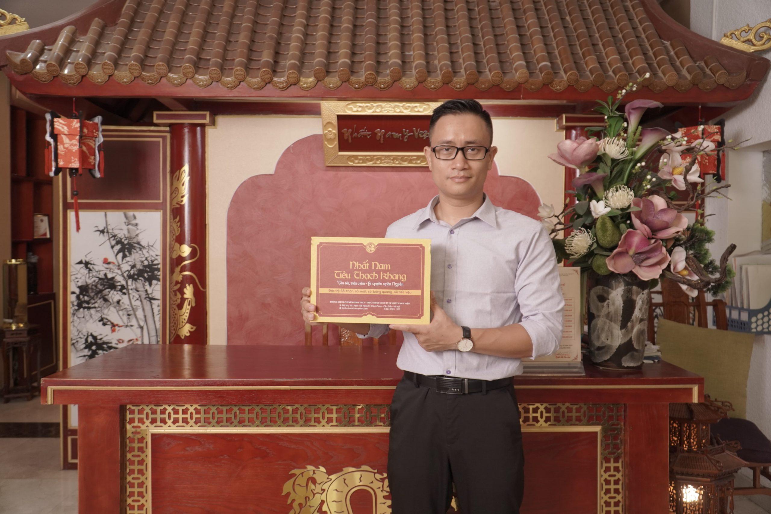 Anh Tuấn đã nhanh chóng loại bỏ sỏi thận sau khi dùng Nhất Nam Tiêu Thạch Khang được 3 tháng