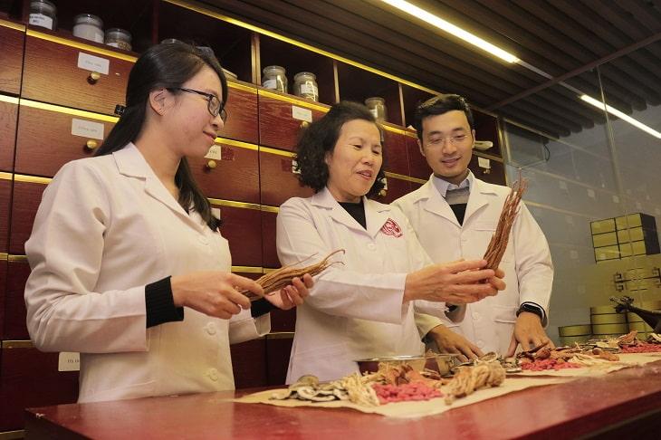 Những dược liệu trong bài thuốc Nhất Nam Bình Vị Khang được các bác sĩ, chuyên khoa nghiên cứu để kết hợp với nhau theo tỷ lệ vàng