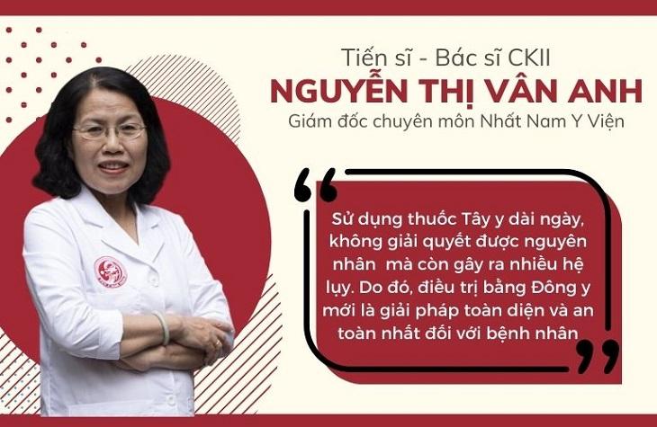 Bác sĩ Nguyễn Thị Vân Anh chữa dứt điểm đau dạ dày cho rất nhiều bệnh nhân bằng phương thuốc YHCT
