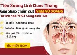 Phác đồ chữa viêm mũi xoang 3 TÁC ĐỘNG TOÀN DIỆN từ Thái Y Viện triều Nguyễn