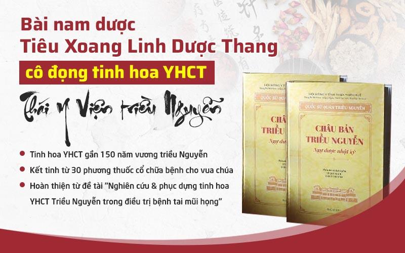 Bài thuốc được phát triển từ nhiều bài thuốc quý của Cung đình Huế