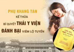 Phụ Khang Tán chữa viêm lộ tuyến theo BÍ QUYẾT của cung Phi Triều Nguyễn