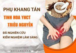 Phụ Khang Tán phục dựng thuốc chữa bệnh phụ khoa của Cung phi triều Nguyễn